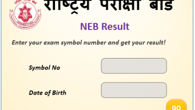 Photo of NEB Result